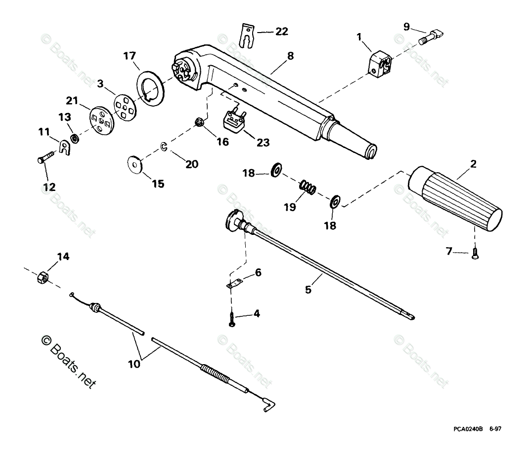 Johnson Outboard Parts By Year Oem Parts Diagram For