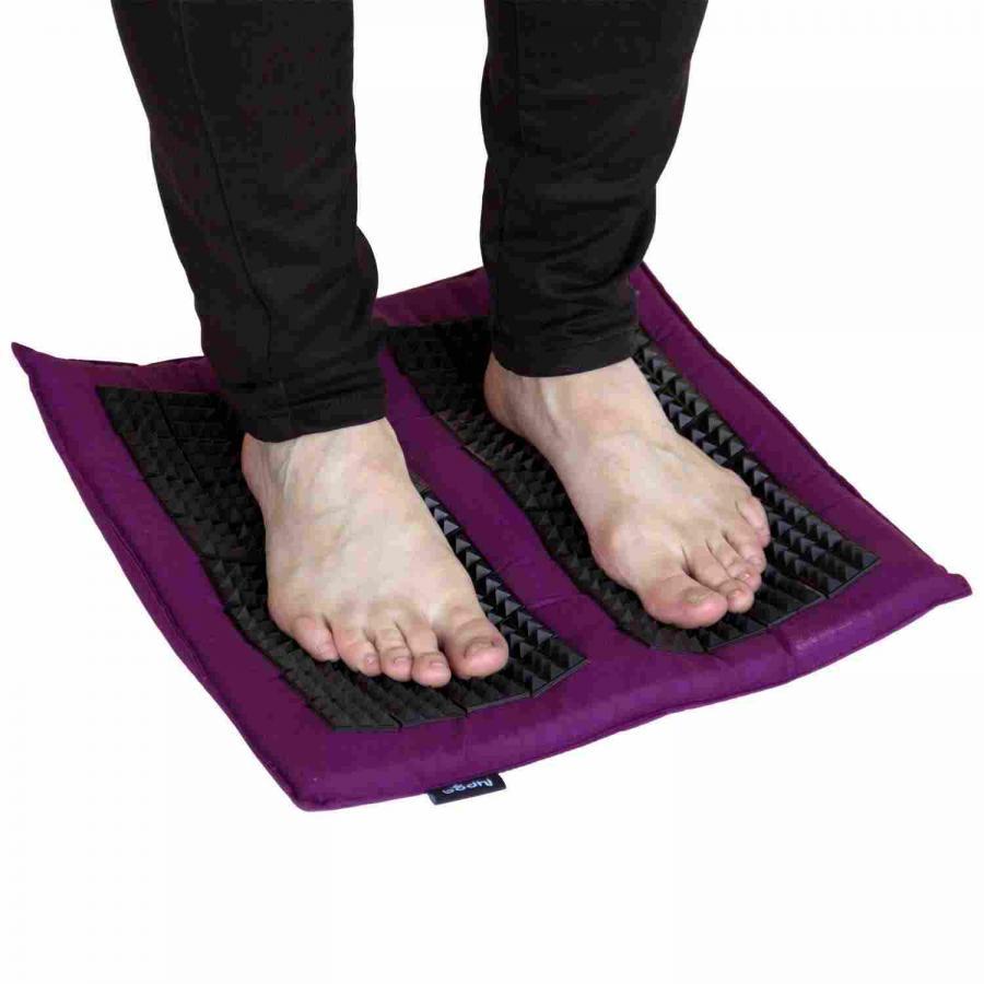 tapis d acupression vital spiky pour les pieds