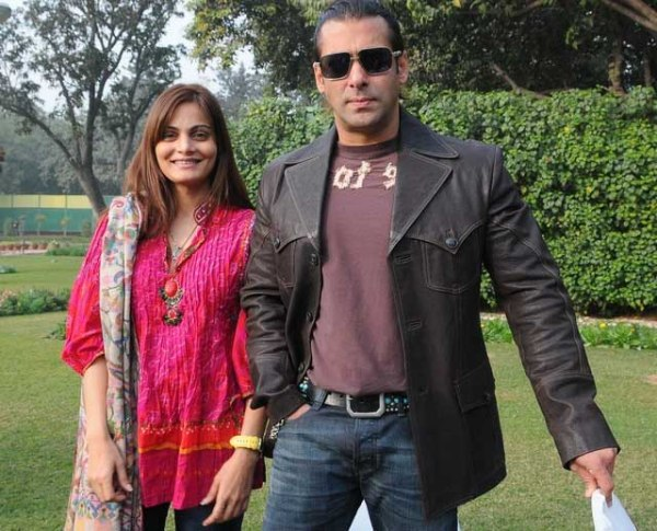 Sister Alvira compliments Salman Khan for the first time ...