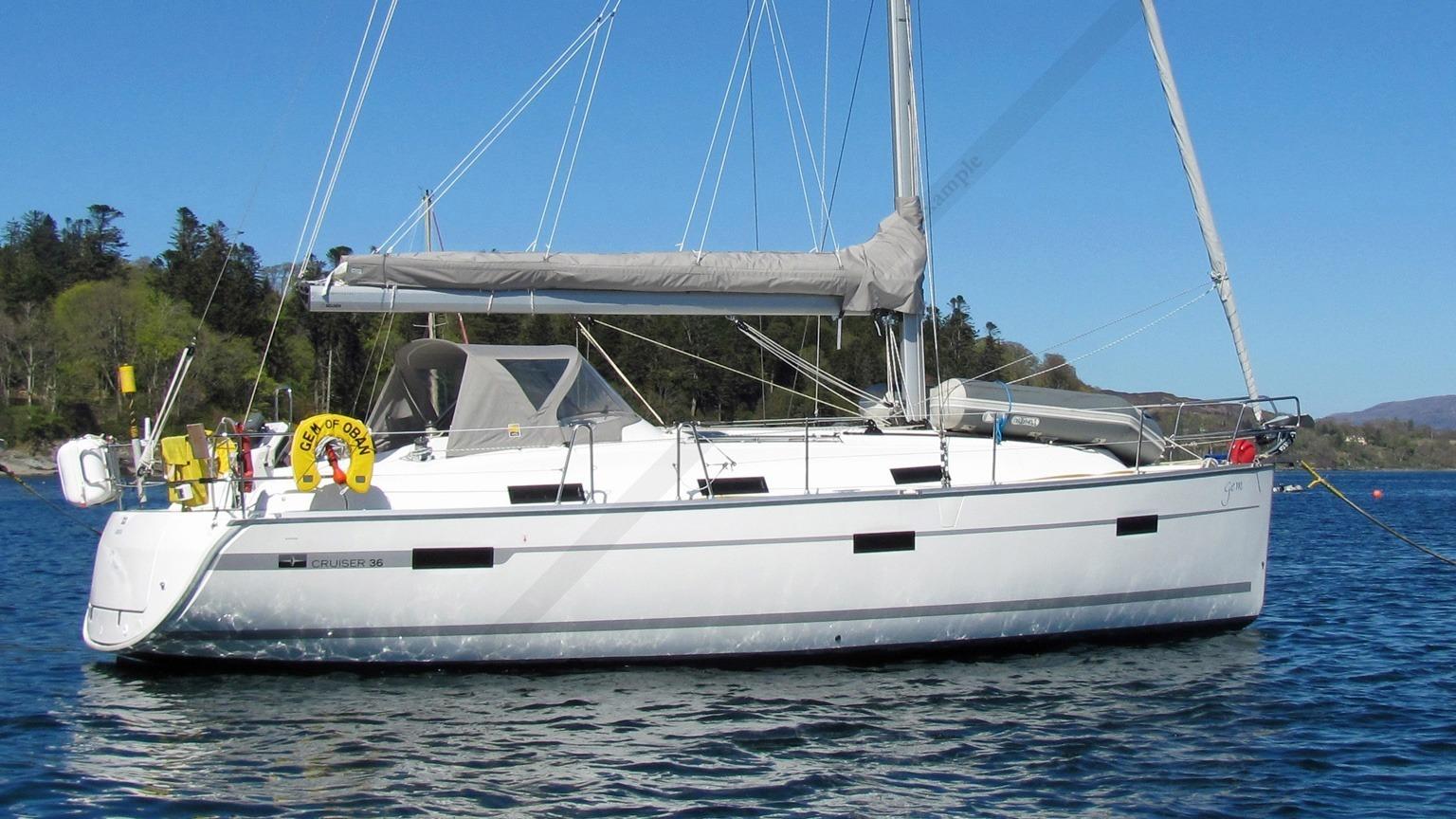 Sailboat Cruise Bavaria 36 Cruiser Velika Luka Yacht
