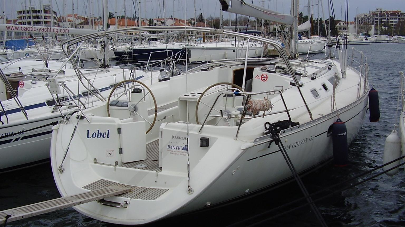 Sailboat Cruise Jeanneau Sun Odyssey 452 Osejava Yacht