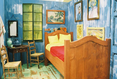 """Bedroom in Arles"" remake by Joshua Louis Simon"