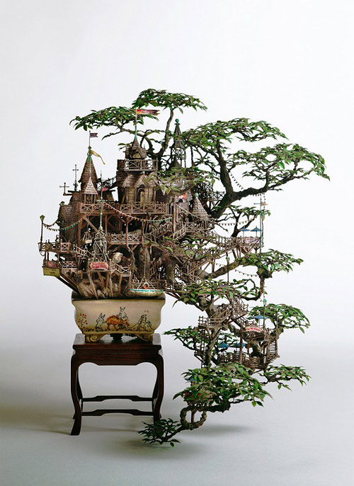 Incredible miniatures by Takanori Aiba
