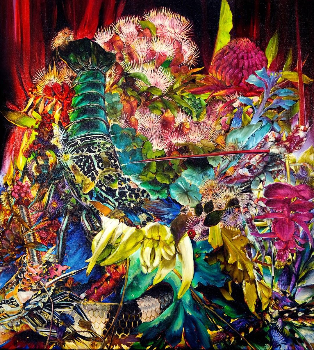 """Sugar Fever Dream"" by Artist Karla Marchesi"