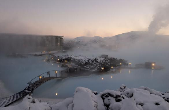 Blue Lagoon Geothermal Resort in Grindavík, Iceland