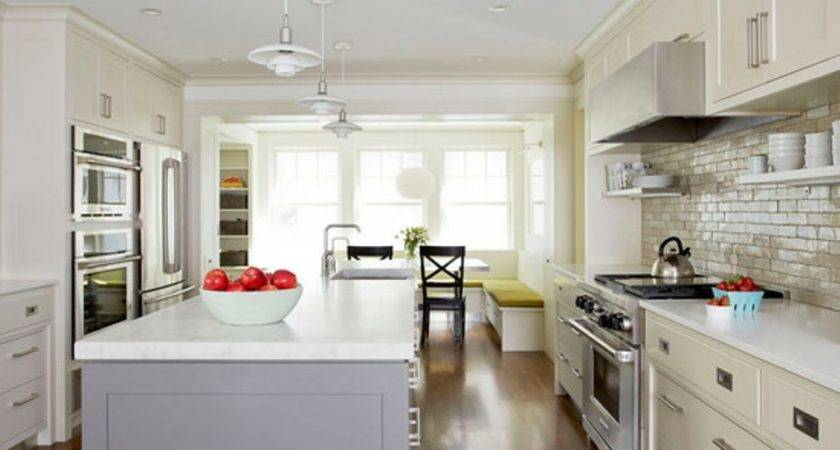 Long Narrow Kitchen Ideas Interior Designs Homes Decor