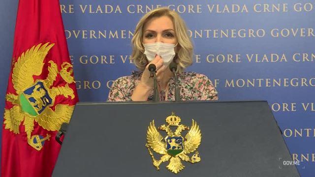 Ministarka zdravlja Jelena Borovinić Bojović
