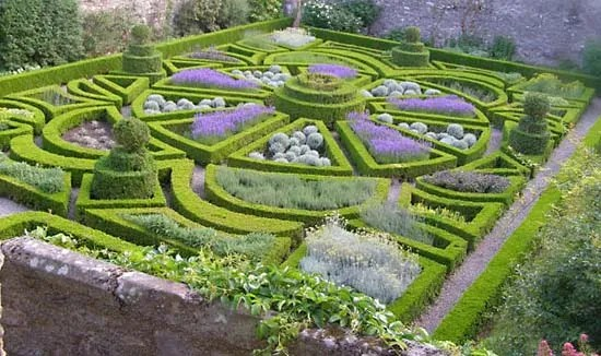 Small Knot Garden Plans