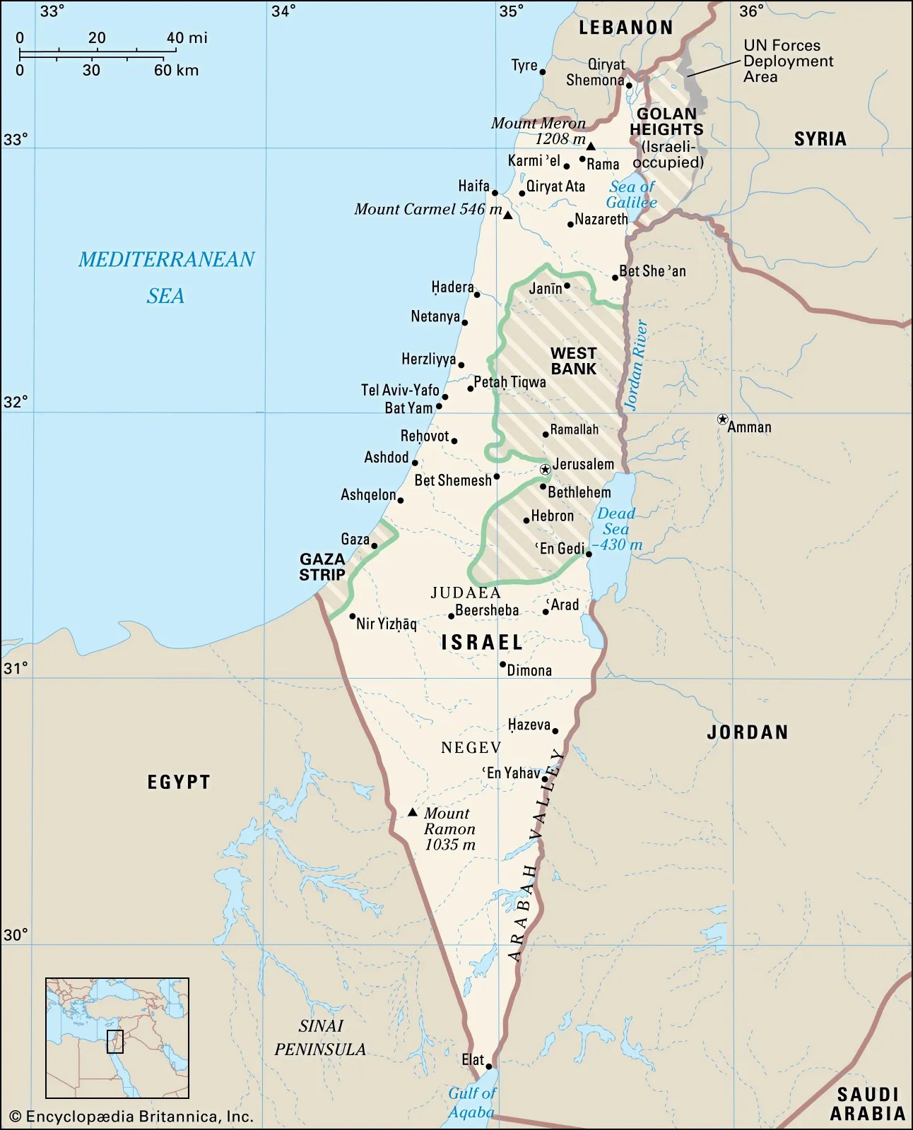 History Of Israel And Palestine Summary