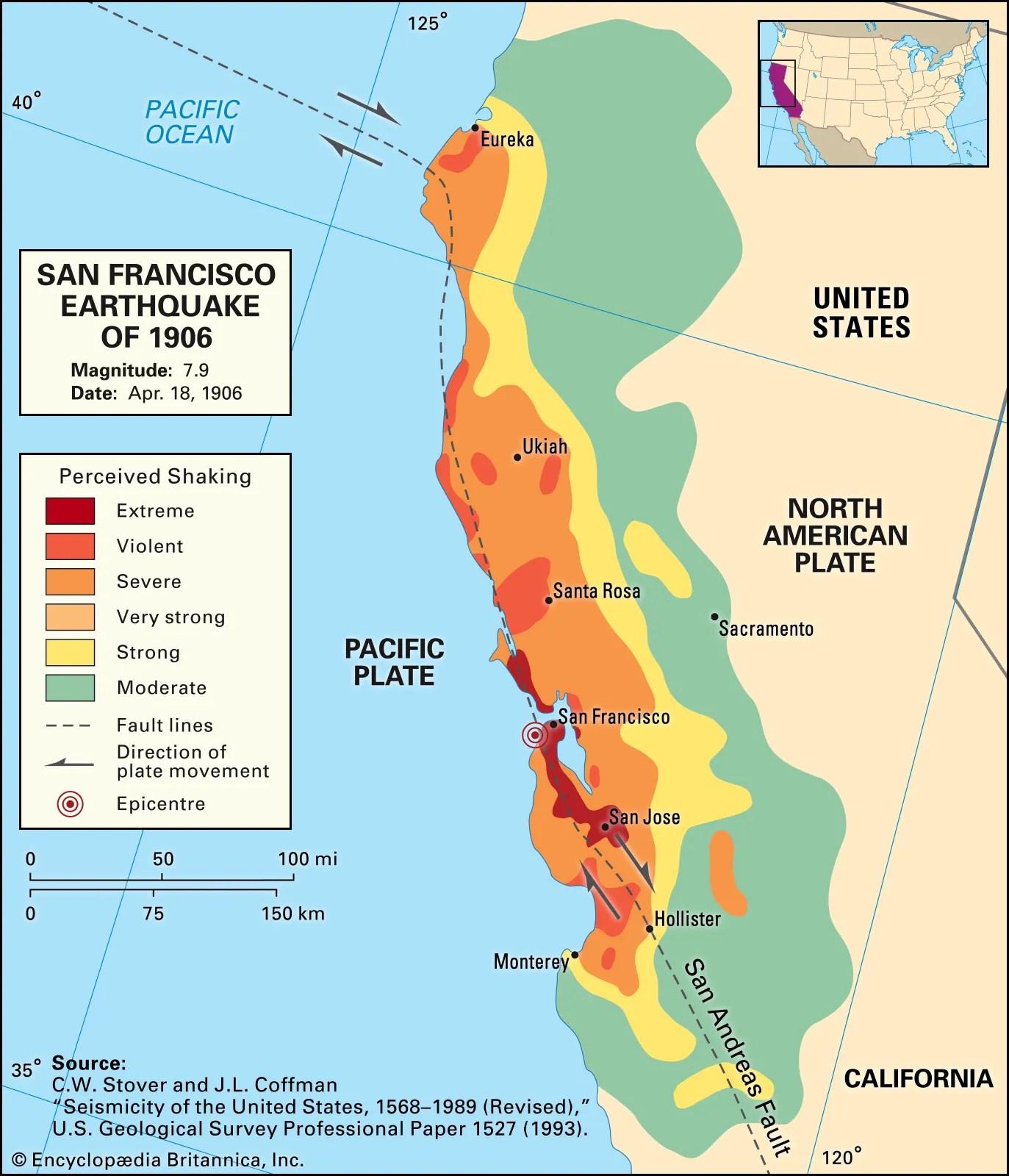 San Francisco Earthquake Of