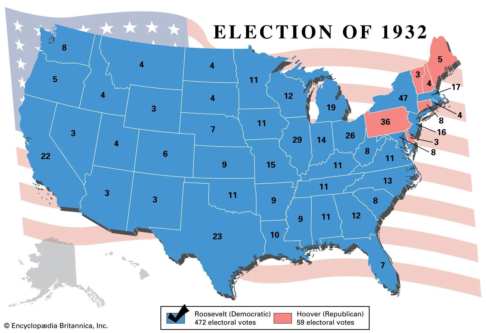 United States Presidential Election Of 1932 United States Government Britannica