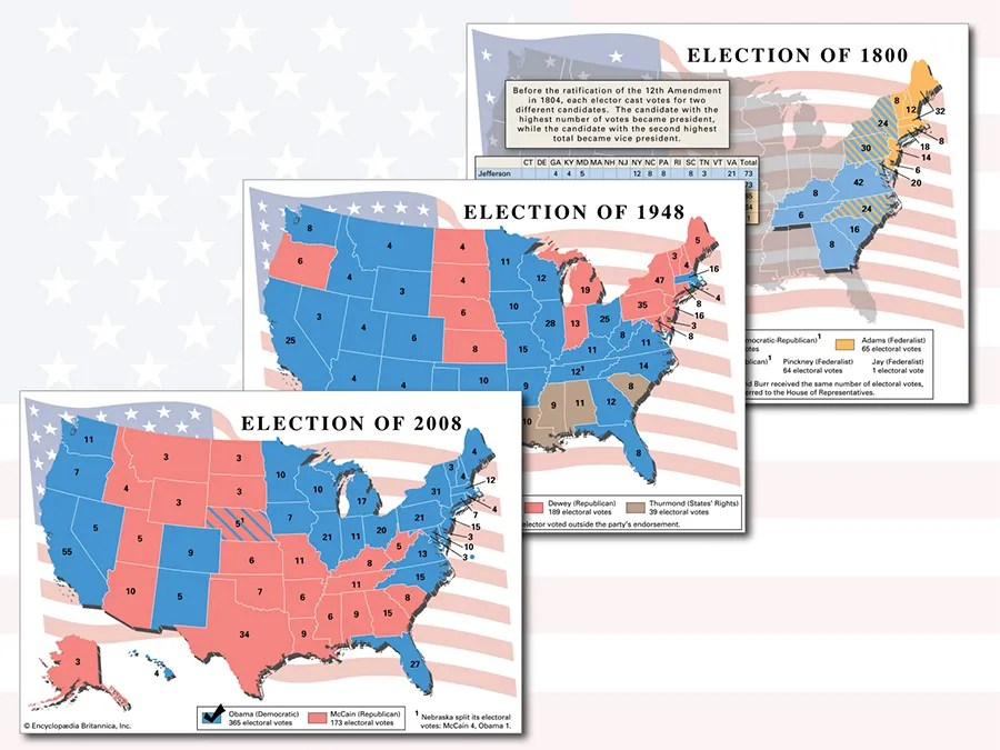 Cybersecurity expert tim bandos reveals whi. A History Of U S Presidential Elections In Maps Britannica