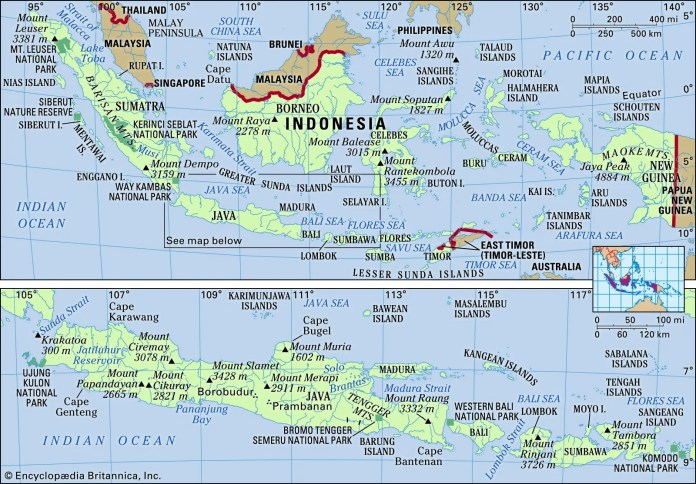 Indonesia Facts People And Points Of Interest Britannica