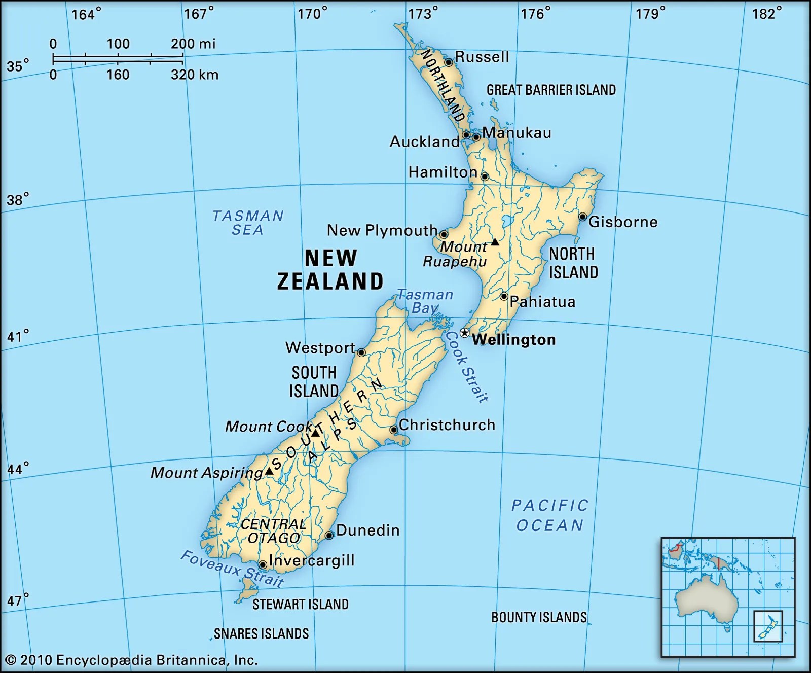Where Is Old Zealand