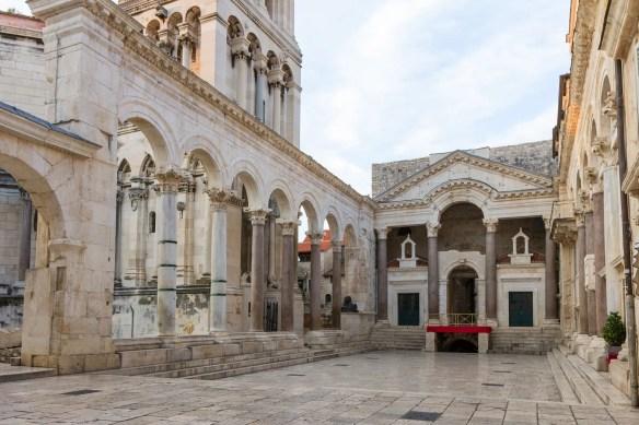 Palace of Diocletian | building, Split, Croatia | Britannica