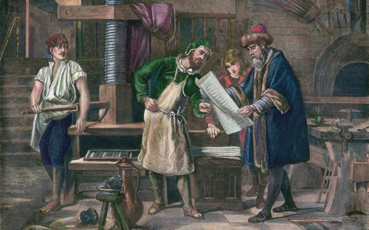 Johannes Gutenberg | Printing Press, Inventions, Facts ...