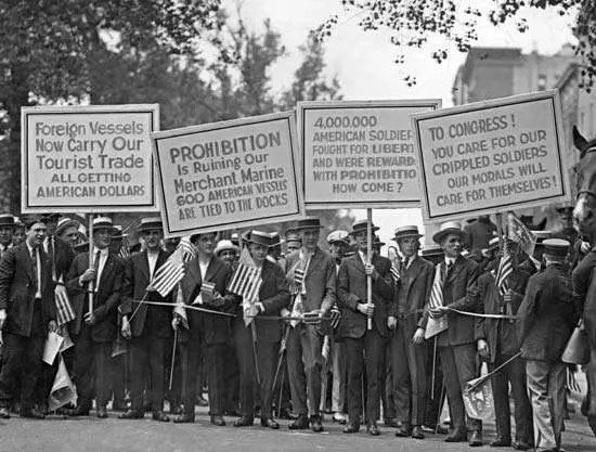 Prohibition   Definition, History, Eighteenth Amendment ...