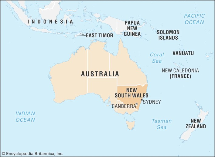 New South Wales | Flag, Facts, Maps, & Points of Interest | Britannica