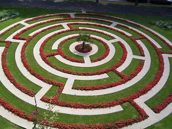 labyrinth flower garden designs Labyrinth | architecture | Britannica.com
