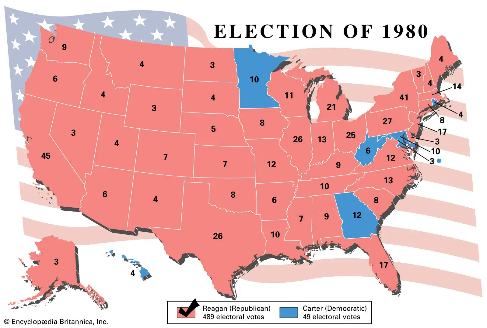 Now it's all about who's the most connected. A History Of U S Presidential Elections In Maps Britannica