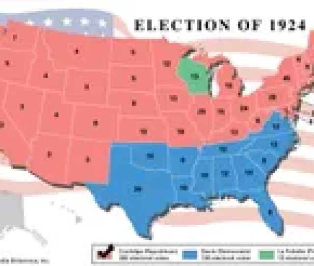 American Presidential Election 1924