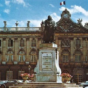 nancy history geography points of