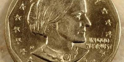 Susan B. Anthony dollar coin