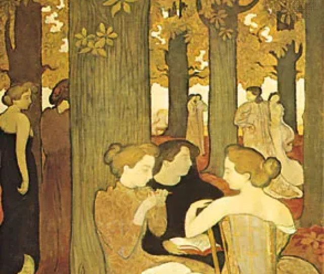 The Muses Oil Painting By Maurice Denis 1893 In The National Museum Of