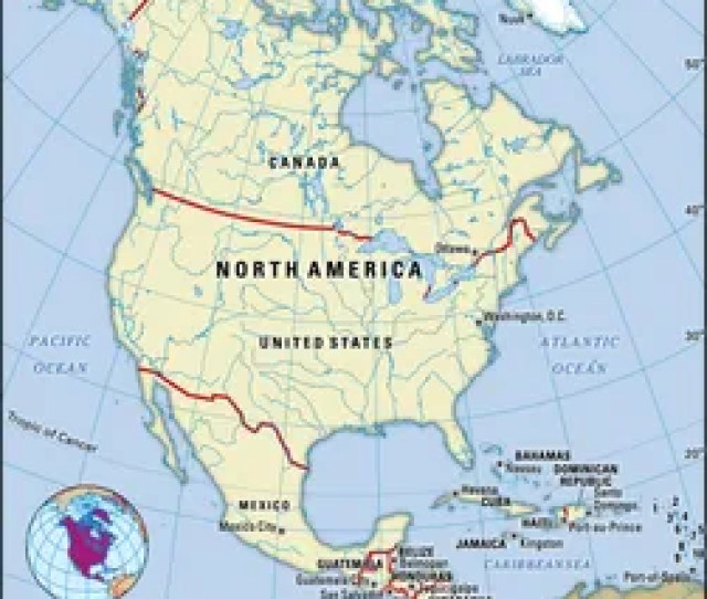 North Americanorth America Encyclopaedia Britannica Inc