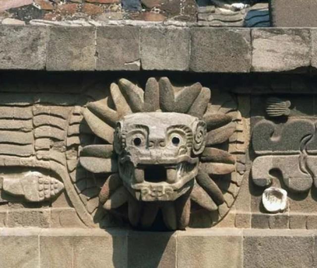 Quetzalcoatlquetzalcoatl Stone Carving On The Temple Of Quetzalcoatl Teotihuacan Mexico Gordon Galbraith Shutterstock Com