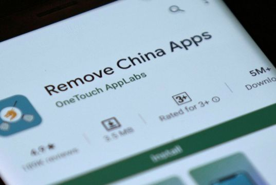 Çin uygulamalarını kaldırma uygulaması