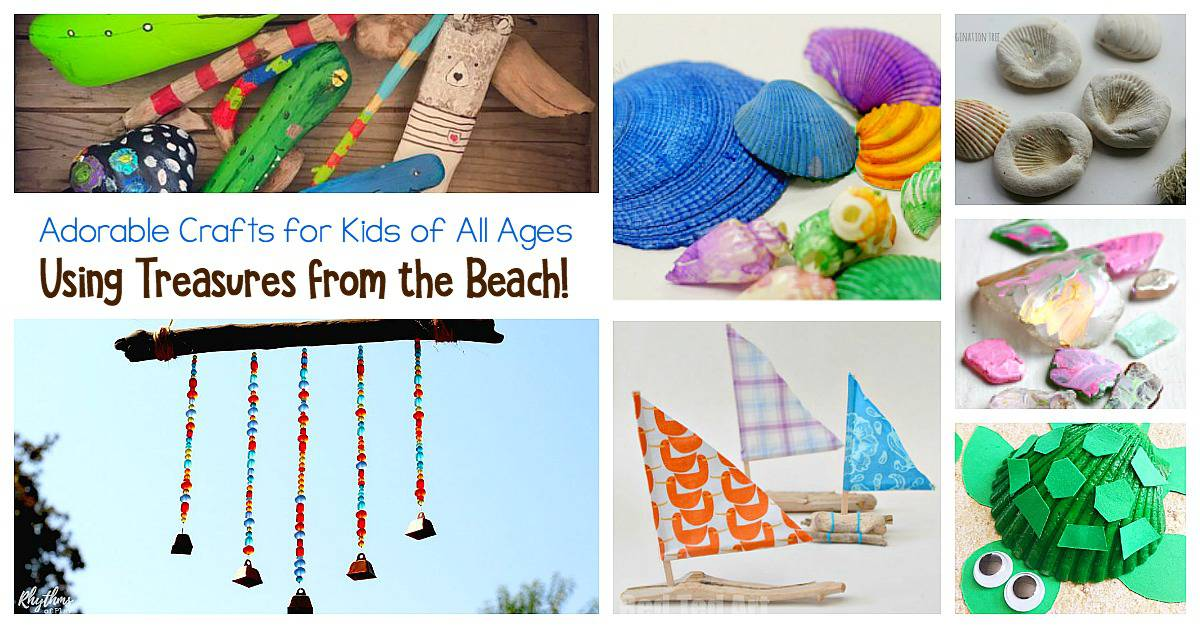 The editors of publications international, ltd. Beach Nature Crafts For Kids Buggy And Buddy