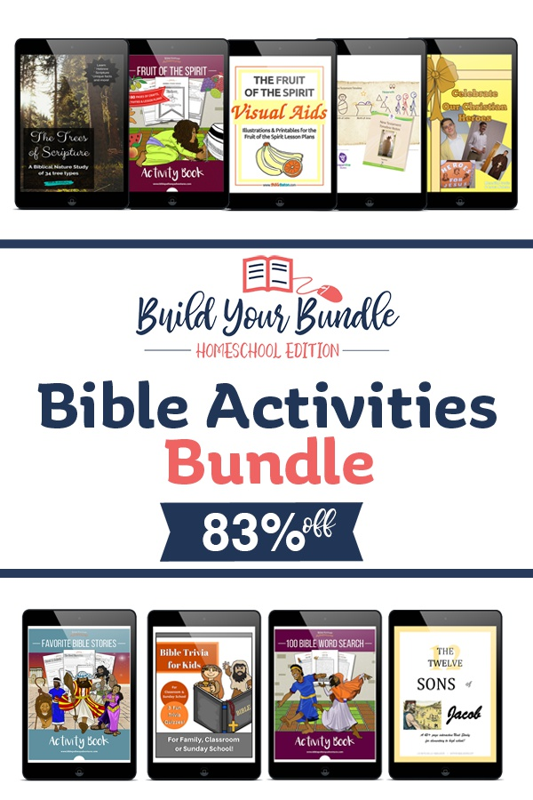 Bible Study and Activities Bundle