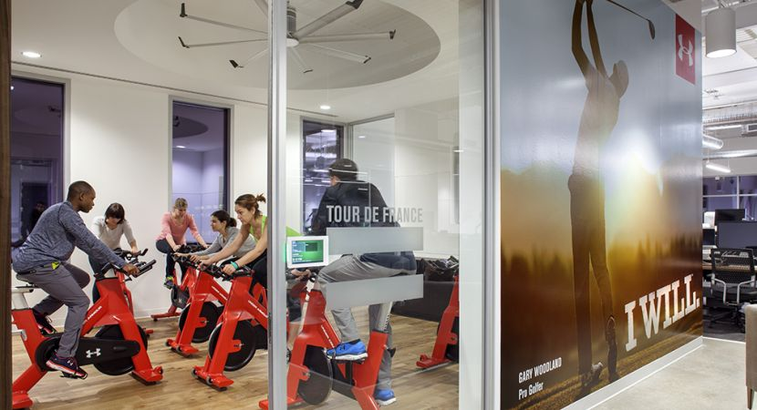 Under Armour Connected Fitness Built In Austin