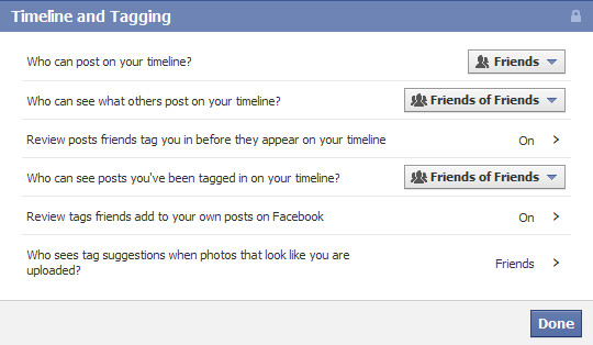 Image result for Know How to control facebook tagging
