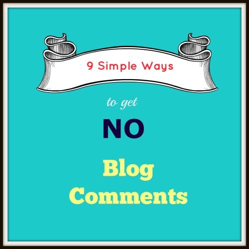 No Blog Comments