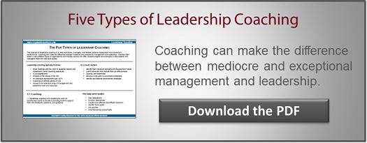 Leadership Coaching CTA
