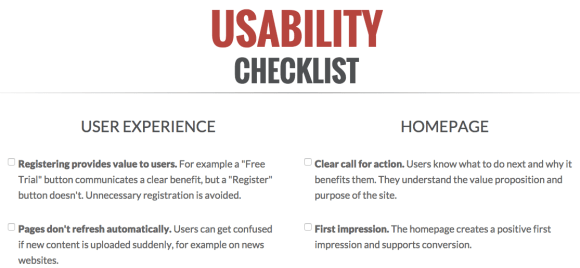 web-usability-checklist