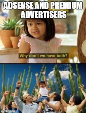 quảng cáo cao cấp adx và adsense
