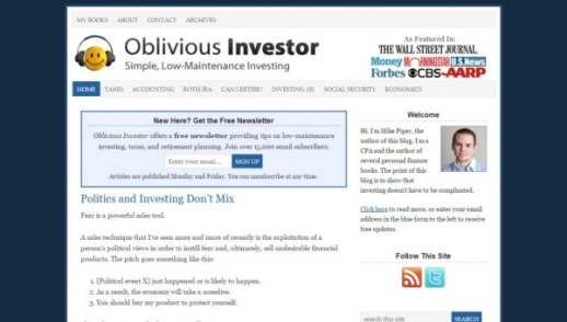 Oblivious Investor