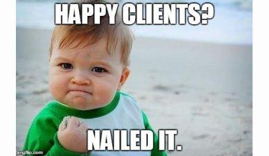 Image result for client relationship Meme