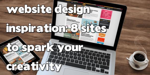 Website Design Inspiration header image