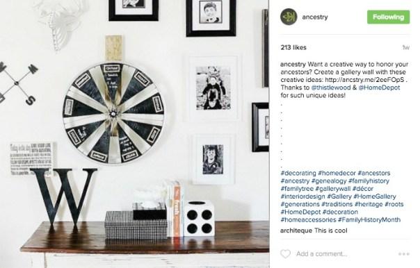 Ancestry Instagram Link in Bio