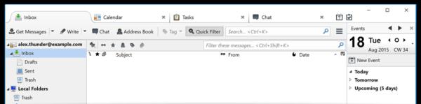 thunderbird homepage screenshot