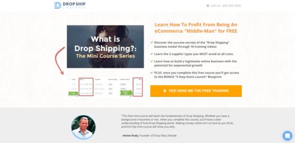 Drop Shipping Mini Course
