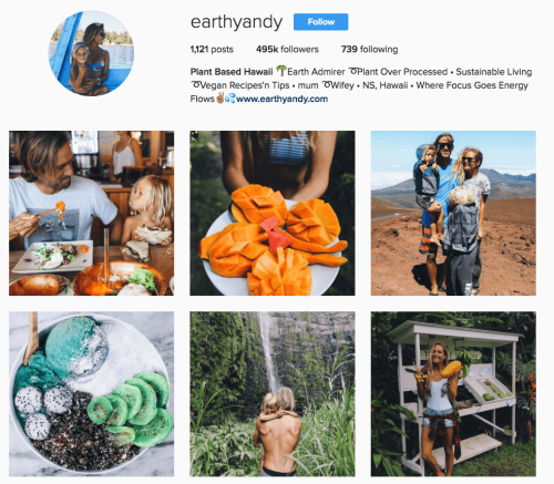 How to make money on Instagram creating a motif