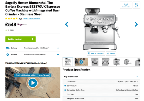 video review, product video, ecommerce video, visual commerce, video marketing