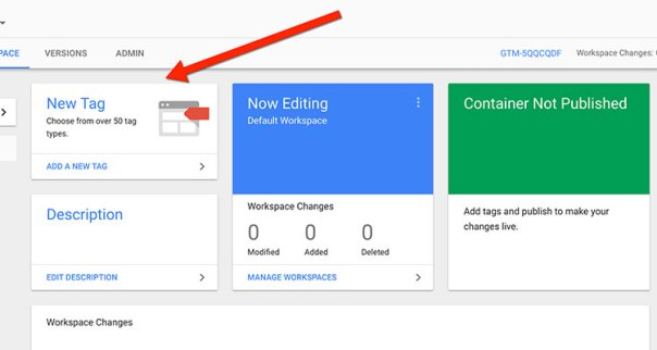 google-tag-manager-new-tag How To Install Google Tag Manager On WordPress