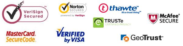 Trust signal logos