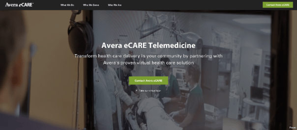 Avera eCARE Background Video